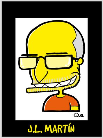 Caricatura JL MARTIN Caricature